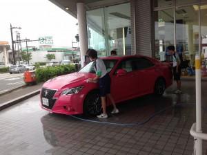 やっぱり洗車!?